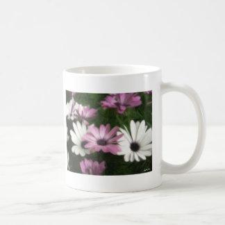 Purple and White Daisies 2 Painterly Mugs