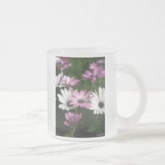 Purple and White Daisies 3 Painterly Coffee Mug