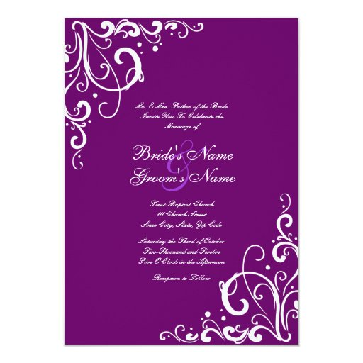 Normal wedding invitation card size invitation normal for Wedding invitation normal size
