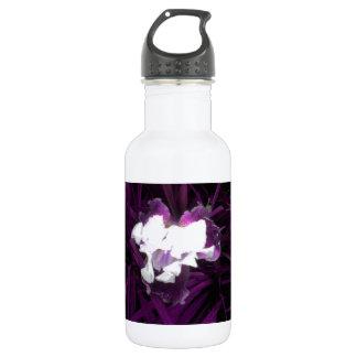 Purple and White Iris 532 Ml Water Bottle