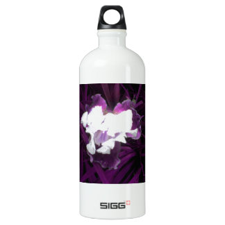 Purple and White Iris SIGG Traveller 1.0L Water Bottle