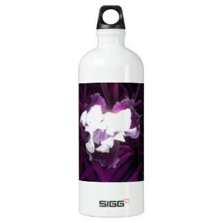 Purple and White Iris SIGG Traveller 1.0L Water Bottle