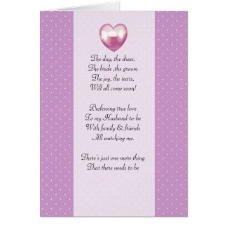 purple and white polka dot Be my bridemaid card