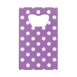 Purple And White Polka Dot Pattern