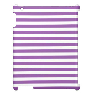 Purple and White Stripe Pattern Case For The iPad 2 3 4