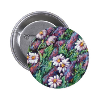 purple and white wildflowers button