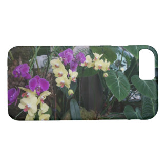 Purple and Yellow Orchids iPhone 7 Case