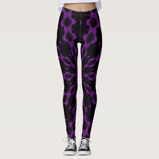 Purple Angel Goddess Leggings