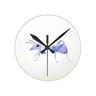 Purple Ant Clocks