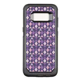 Purple Arabic Geometric Pattern OtterBox Commuter Samsung Galaxy S8 Case
