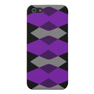 Purple Argyle Cases iPhone 5 Cover