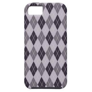 Purple Argyle iPhone 5 Covers
