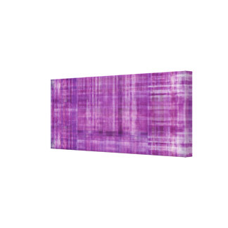 Purple Art Color Painting Canvas Print