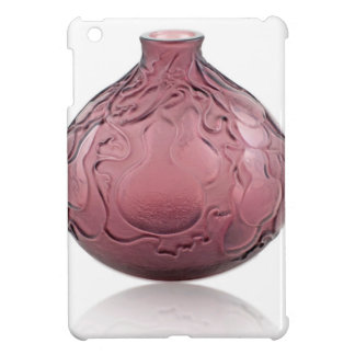 Purple Art Deco glass vase depicting pears. iPad Mini Covers