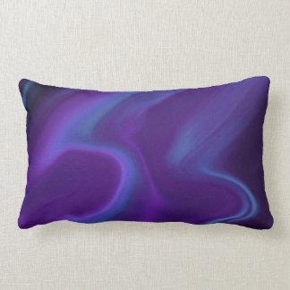 Purple Aurora Lumbar Cushion