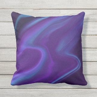 Purple Aurora Outdoor Cushion