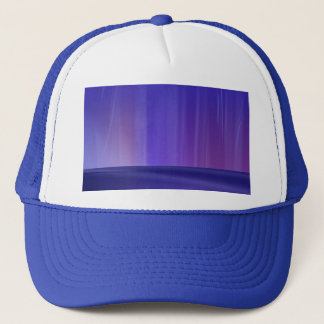 Purple Aurora Trucker Hat