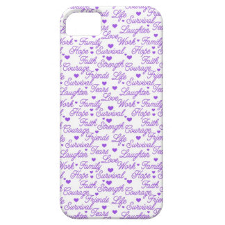 Purple Awareness iPhone 5 Case