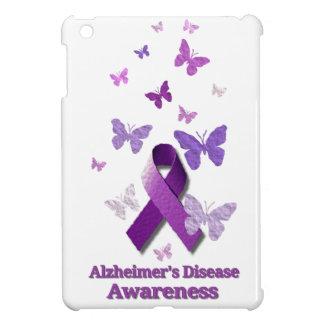 Purple Awareness Ribbon: Alzheimer's Disease Case For The iPad Mini