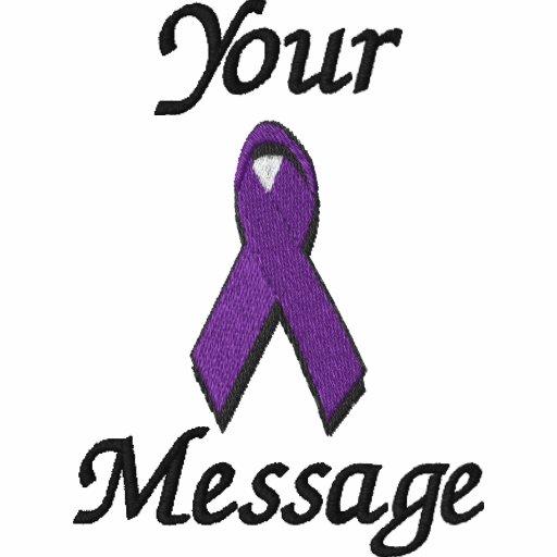 Purple awareness ribbon - Customize