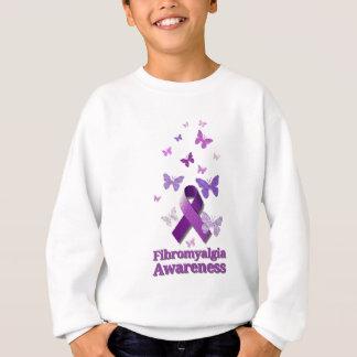 Purple Awareness Ribbon: Fibromyalgia Sweatshirt