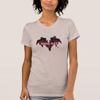 Purple Baby Bat, Follow the White Rabbit T-Shirt
