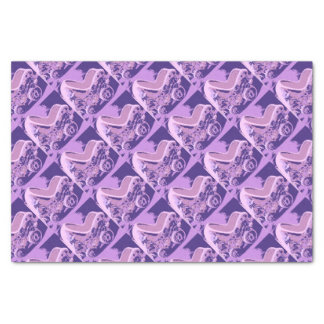 Purple Baby Buggy Tissue Paper