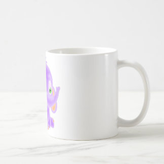 Purple Baby Elephant Coffee Mug