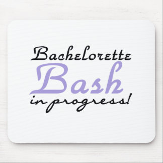Purple Bachelorette Bash Mouse Pads