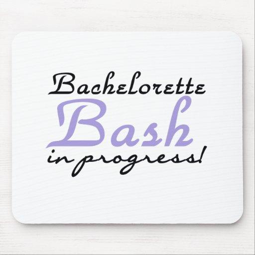 Purple Bachelorette Bash Mouse Pads