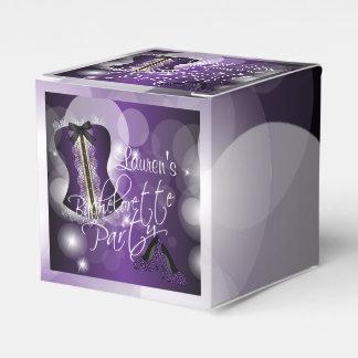 Purple Bachelorette Party Design Favour Box