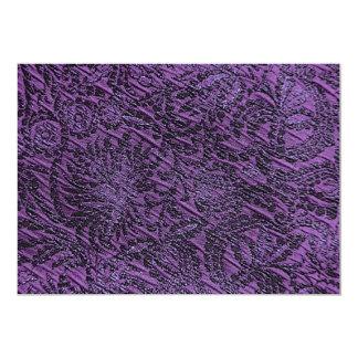 Purple Background Invitation