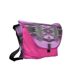Purple bag Ricksaw Messanger Messenger Bag