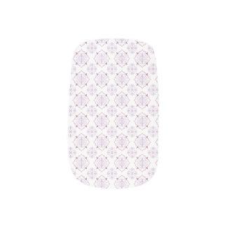 Purple Baroque Royal Damask Minx Nail Art