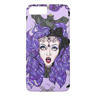 Purple Bat Girl iPhone 8 Plus/7 Plus Case