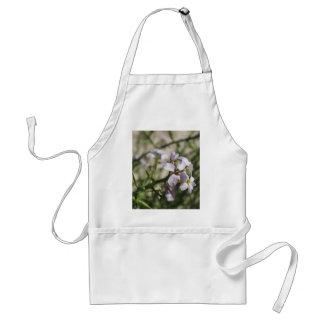 purple beach flower standard apron
