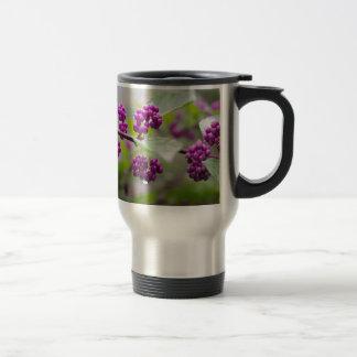 Purple Berries Travel Mug