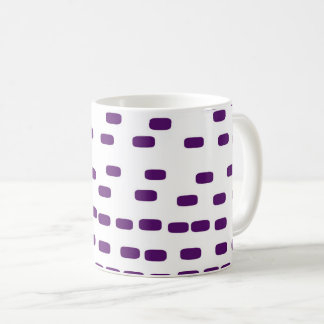 purple big DNA Coffee Mug