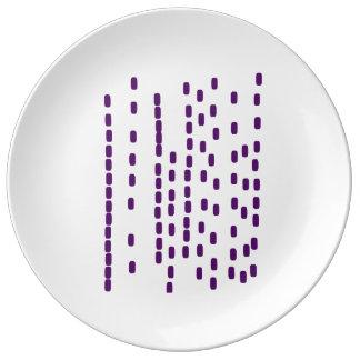 Purple big DNA plate