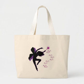 Purple & Black Fairy Bag