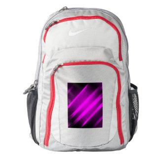 purple-black fuchsia fire  Nike Backpack Gym Red