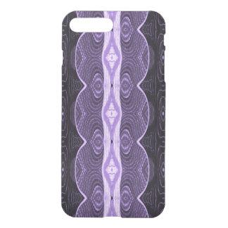 Purple Black Lace Pattern iPhone 7 Plus Case