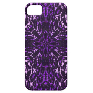 Purple Bling Abstract iPhone 5 Cases