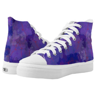 Purple Blizzard High Tops