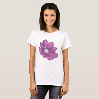 Purple Blooming Flower T-Shirt