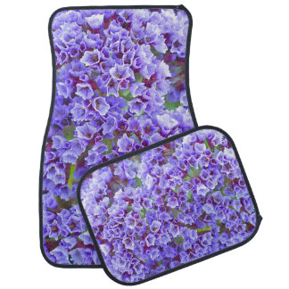 Purple Blooms in Spring Car Mat