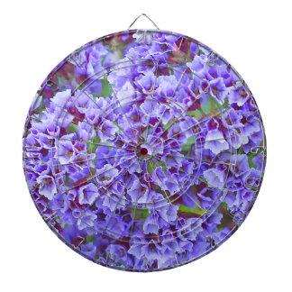 Purple Blooms in Spring Dartboard
