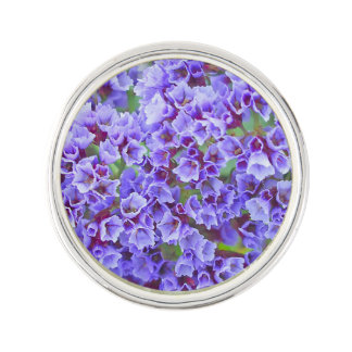 Purple Blooms in Spring Lapel Pin