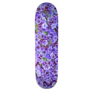 Purple Blooms in Spring Skate Board Decks