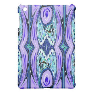 Purple Blue Abstract Mosaic Speck Case iPad Mini Covers